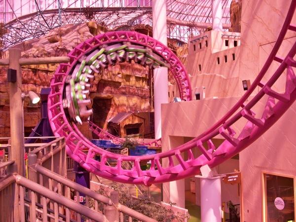 candy crush disney ride pink coaster