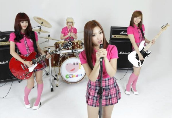 candy crush kpop girlband rock