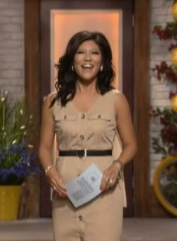 SUPER SAFARI CHENBOT aka The Best Outfit in the history of Julie Chen.